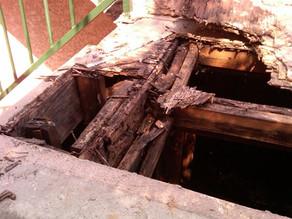 Epoxy Repair Of Decayed Wood