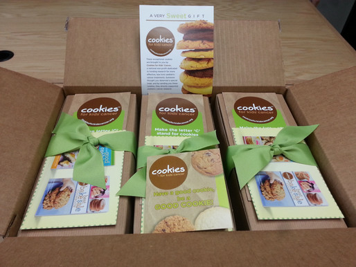 Border7 Loves Cookies for Kid's Cancer!