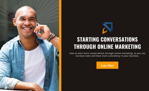 Starting Conversations Through Online Marketing