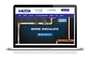 Website & strategy for local plumbing business