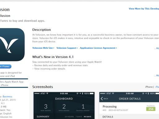 Volusion's New Apple Watch App
