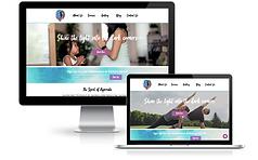 wix yoga site custom design