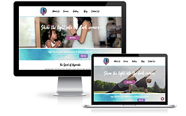 wix yoga site custom design