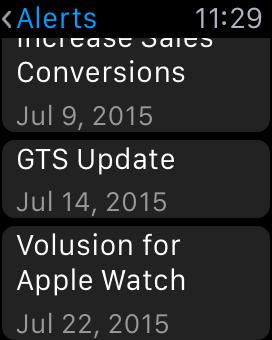 Alerts screenshot