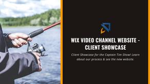 Wix Video Channel Website