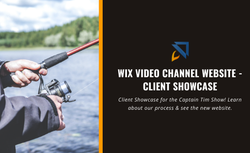 Wix Video Channel Website