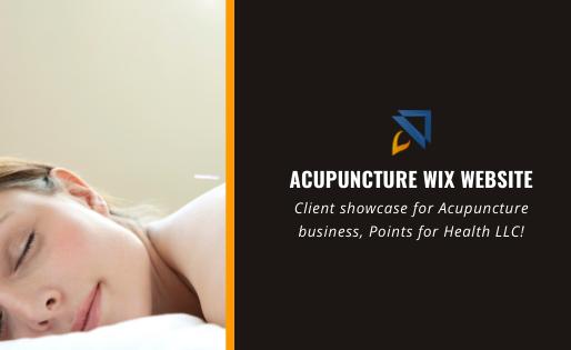 Acupuncture Wix Website