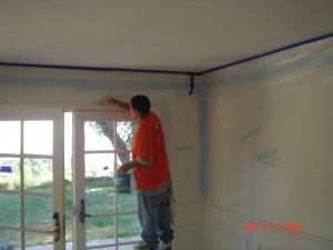 Painting with Interior Paint