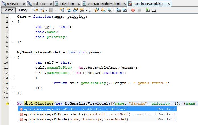 javascript-editing