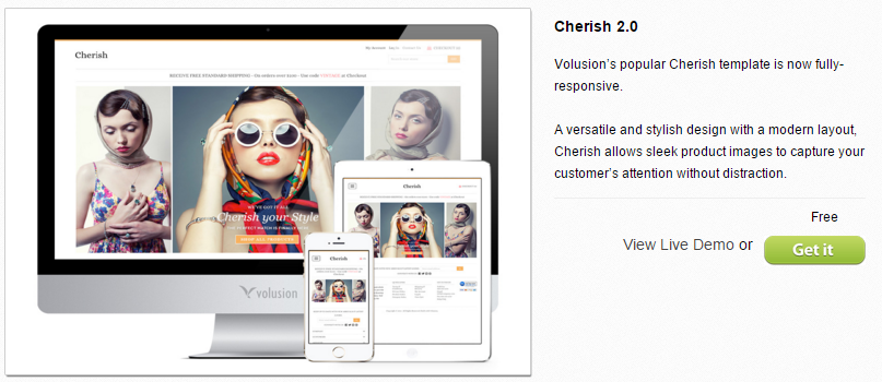 how to choose a great ecommerce template example of a responsive design template