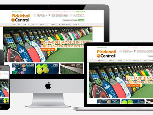 Volusion Design Showcase for Popular Sports Store