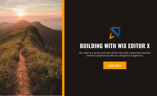 Building with Wix Editor X – Our Take