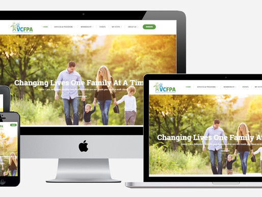 WordPress Design Showcase for Local Non-Profit