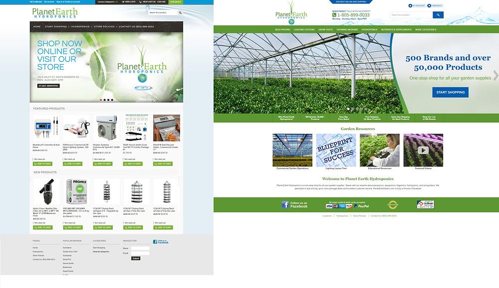 planet earth hydroponics