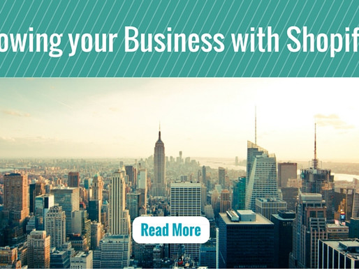 Growing your Business with Shopify