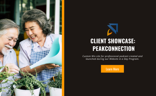 Web Design for Wix Podcast Business – Client Showcase