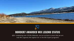 Border7 Awarded Wix Legend Status