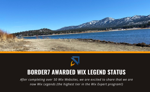 Border7 Awarded Wix Legend Status