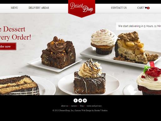 Custom Dessert Delivery Website