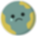 Planet Party Kits Icons_sad earth from s