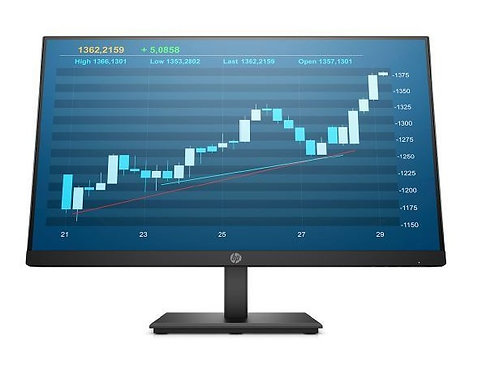 "HP Monitor 23.8"" IPS ProDisplay P244 16:9 1920X1080 VESA VGA/DP/HDMI/5YW"