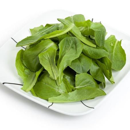 No Raw Spinach!