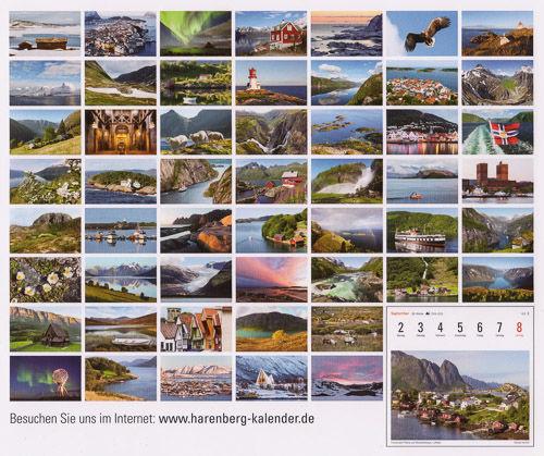 Kalender Norwegen 2019