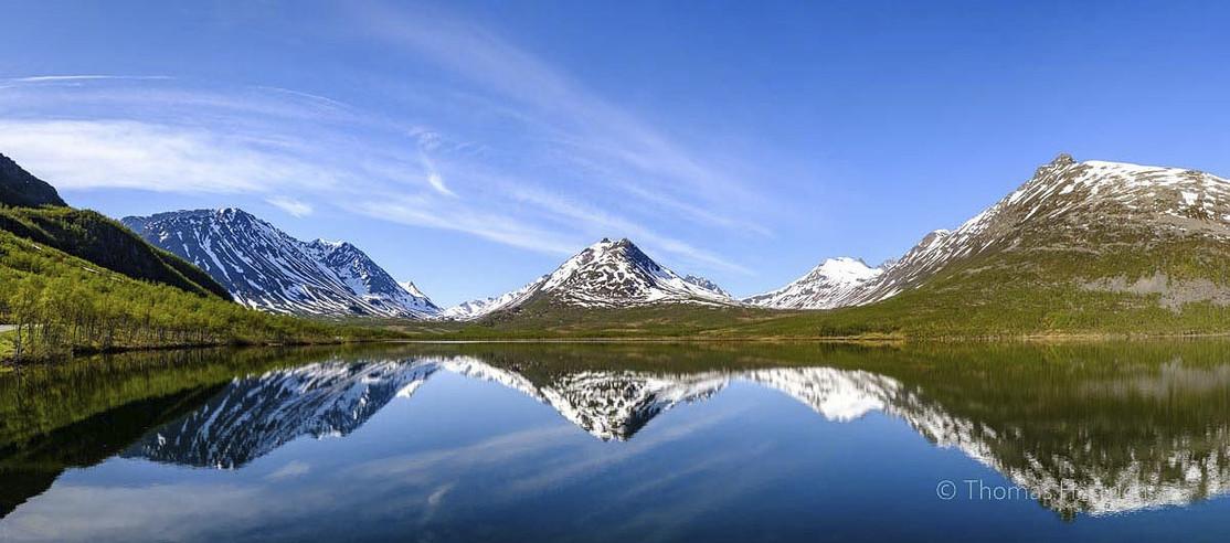 Nakkevatnet bei Tromsø