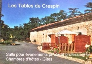 Les tables de Crespin 81120 Dénat