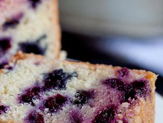 Blueberry Patch Pound Cake