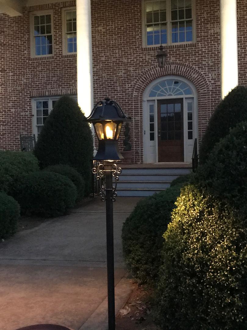 Entry Post Lighting