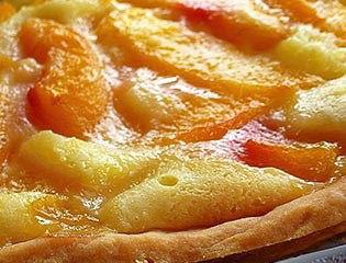 Easy Fresh Peach Pie