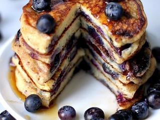 Blue Wally Pancakes