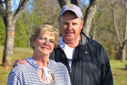 Carolyn and Jim Markley of CJ Orchards in Rutledge, GA