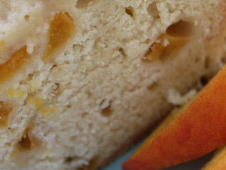 Low-Fat Peach Poundcake