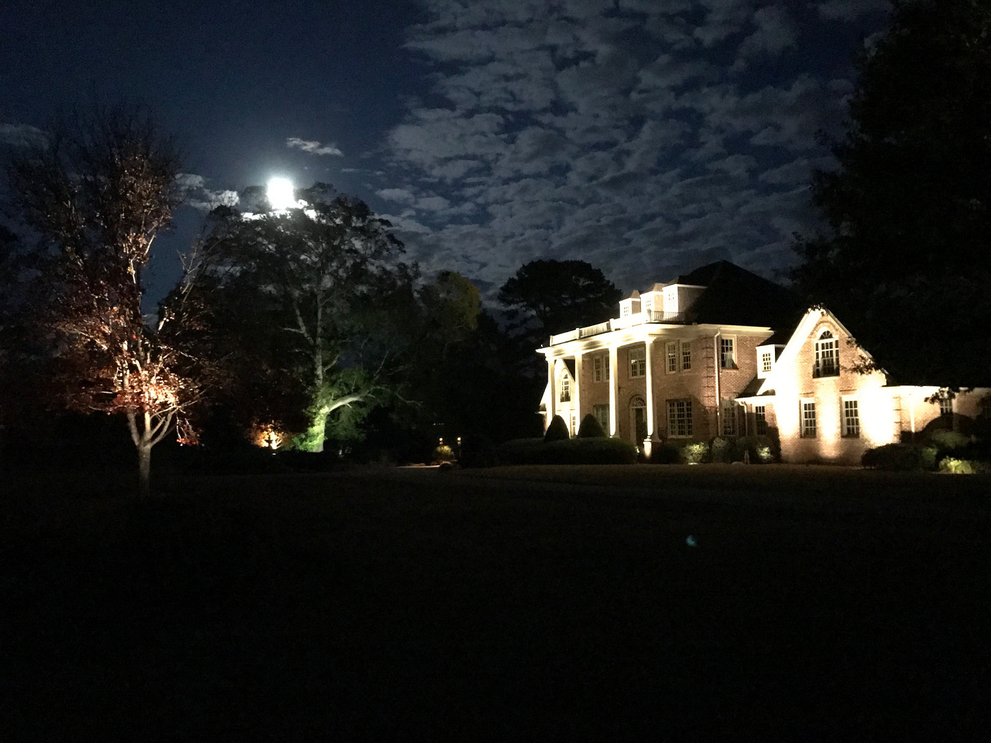 Outdoor Estate Architectural Lighting