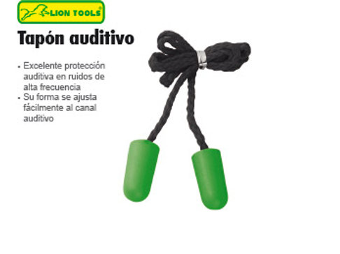 Tapon Auditivo Lion Tools 0155