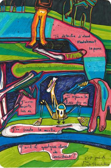 Shantideva - Femme Girouette.Mélodie Lutton