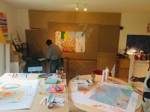 Atelier peindre sa vie