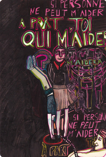 A part toi - Femme Girouette Mélodie Lutton