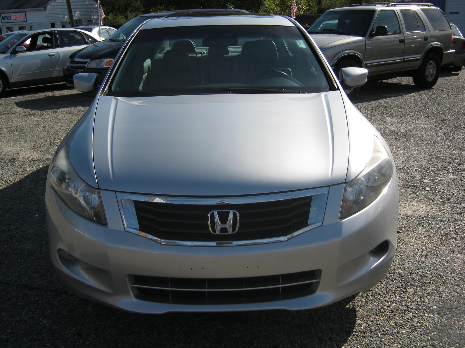 Mysite 1 2008 Honda Accord Ex