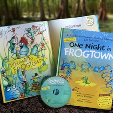 A children's picture-book sold alongside a matching audio CD