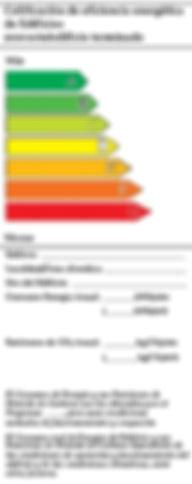 calificacion de eficiencia energetica