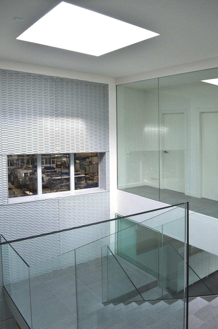 Reforma de edificio de oficinas