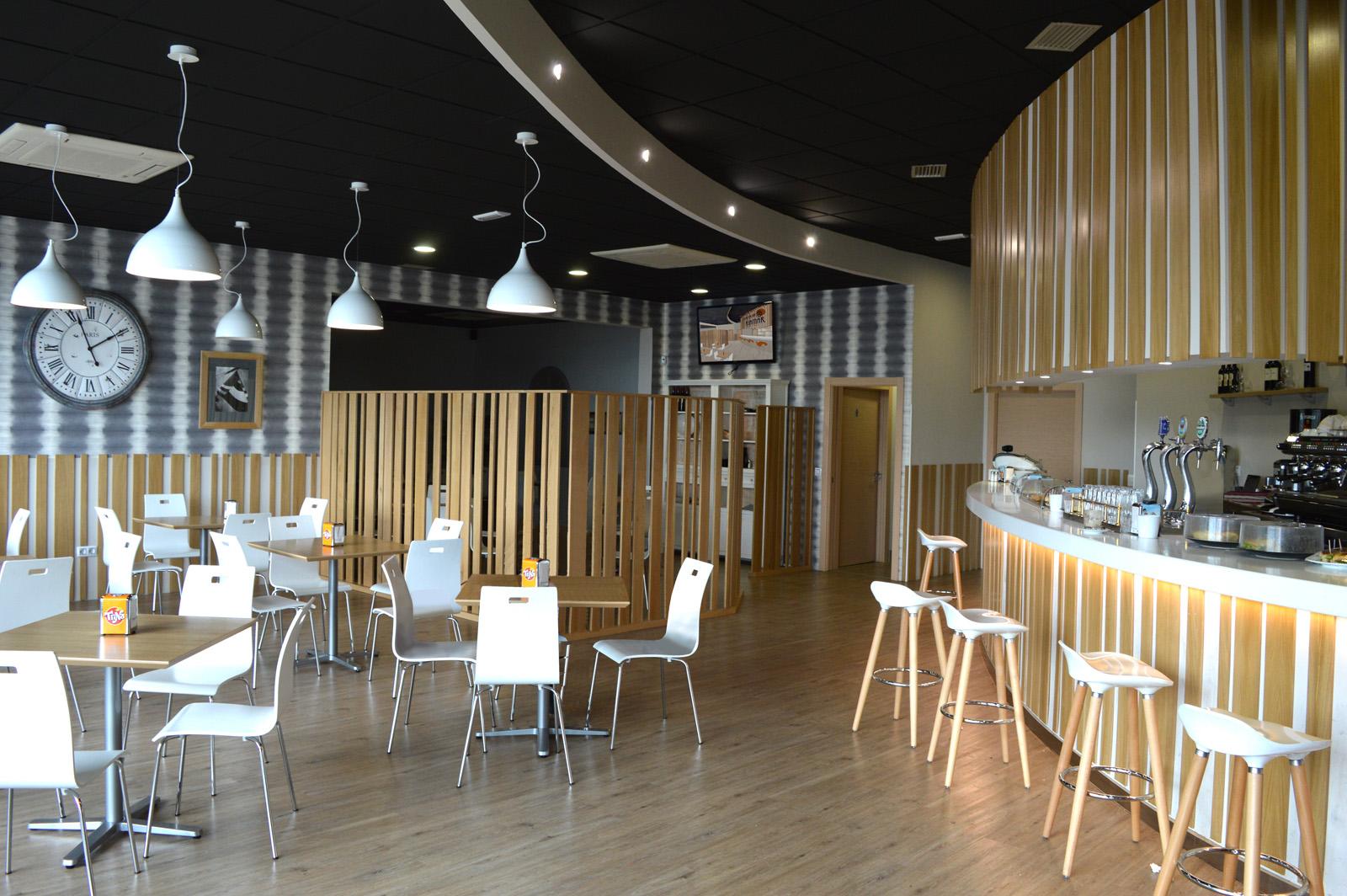 Reforma de cafetería