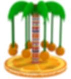 palmiye ağacı, elektrikli oyun ekipmanları
