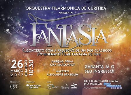 Concerto inédito no Teatro Guaíra