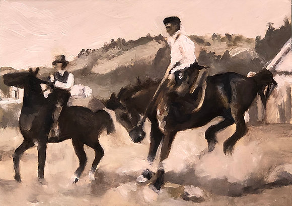 Old Fashion Rodeo 2.5x3.5
