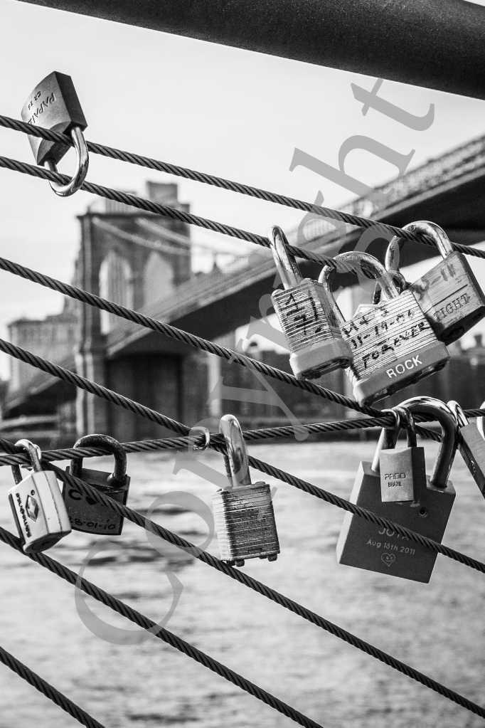 Brooklyn Bridge et Cadenas NB  IMG_1474