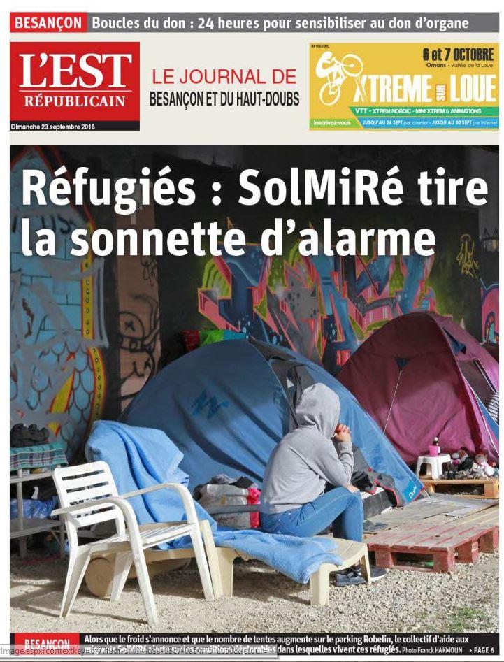 sdf réfugiés